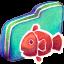 Fishy Green Folder icon