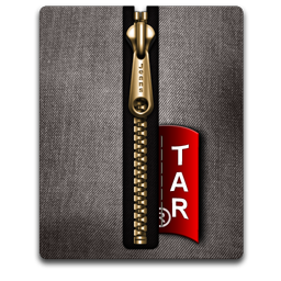 Tar gold black