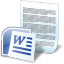 Document Word icon