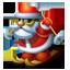 Santa skiing-64