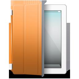 iPad 2 White organge cover