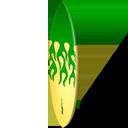 Green Surfboard-128