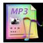 Mp3 files Icon