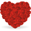 Heart of roses Icon
