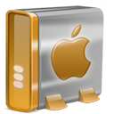Mac HD orange-128