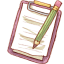 Notepad Pencil icon