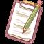 Notepad Pencil-64