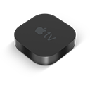 Black AppleTV-128
