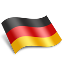 Deutschland Germany Flag-128