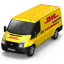 Van DHL Front Icon