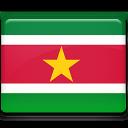 Suriname Flag-128