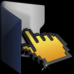 Folder Blue Click