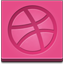 Dribbble square icon
