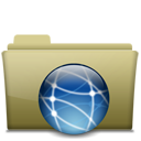 Folder Remote Brown-128