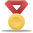 Metal gold red-128