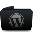 Folder black wordpress-128