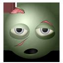 Zombie emoticon-128