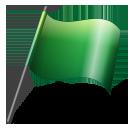 Flag2 green-128