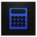 Calculator blueberry-128