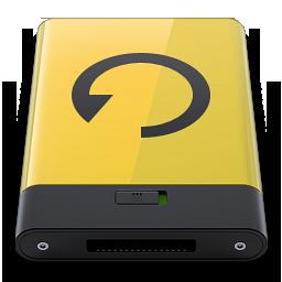 HDD Yellow Backup