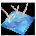 Swimming Synchronized