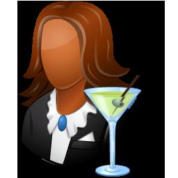 Bartender Female Dark