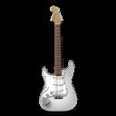 Stratocastor Guitar White-128
