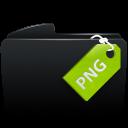 Folder black png-128