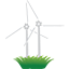 Eco Windmill Icon