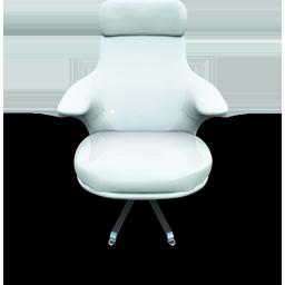 White Vinil Seat