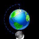 Moon phase full earth-128
