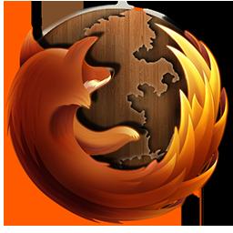 Firefox Wooden