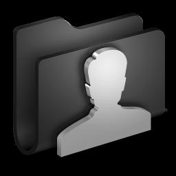 User Black Folder