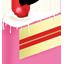 Cream Cake Slice Icon