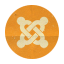 Retro Joomla Rounded icon