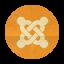 Retro Joomla Rounded Icon