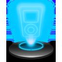 Music player Hologram-128