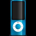 iPod nano blue-128