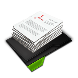 My Documents Pile Green