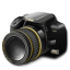 Camera Black and Gold icon