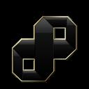 Visual Studio Black and Gold-128