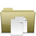 Folder Documents Brown-128
