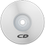 CD White icon
