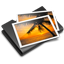 Pictures Black icon