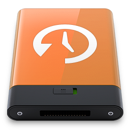 HDD Orange Time Machine W