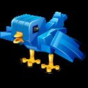 Twitter robot bird-128