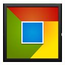 Chrome Black Frame-128