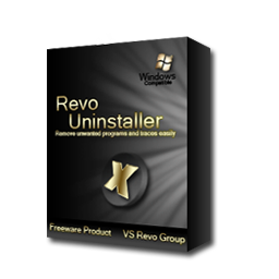 Revo Uninstaller Black and Gold