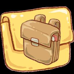 Folder Schoolbag