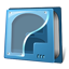 Cd rom empty icon